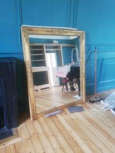 Livraison du miroir
