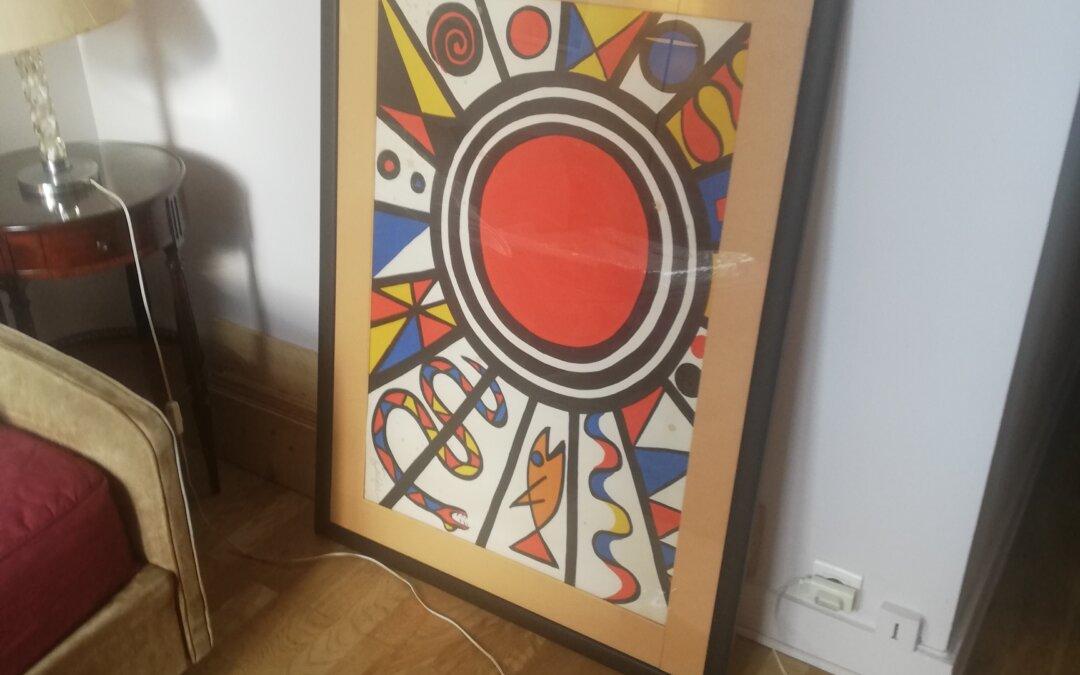 Transport d'une Oeuvre d'art depuis Carnac vers Paris 04