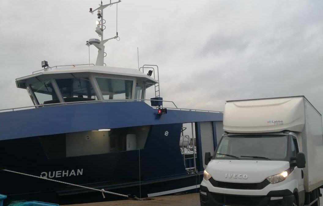 Déménagement du Chesnay vers Belle-Île-en-Mer