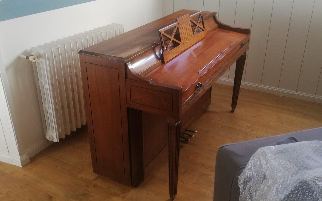 Transport d'un piano ancien depuis Chatou (78) vers Matignon (22)