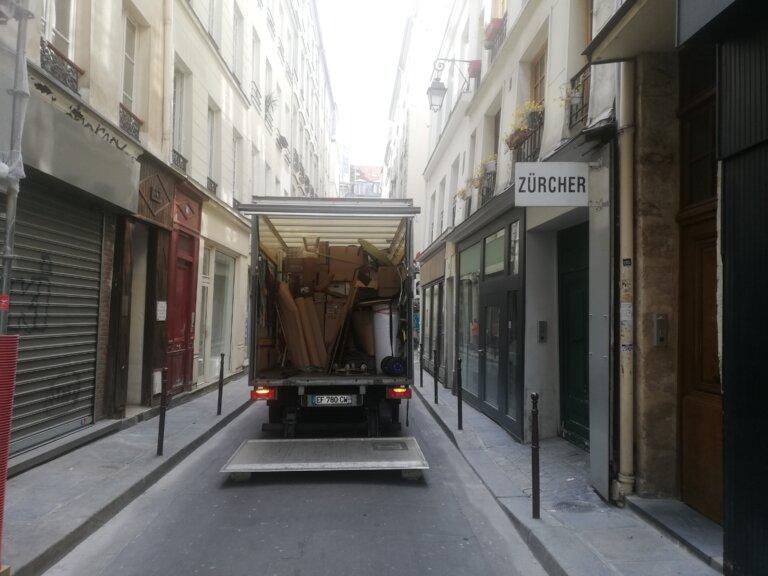Transport sur mesure de tableaux pour une Galerie d'Art